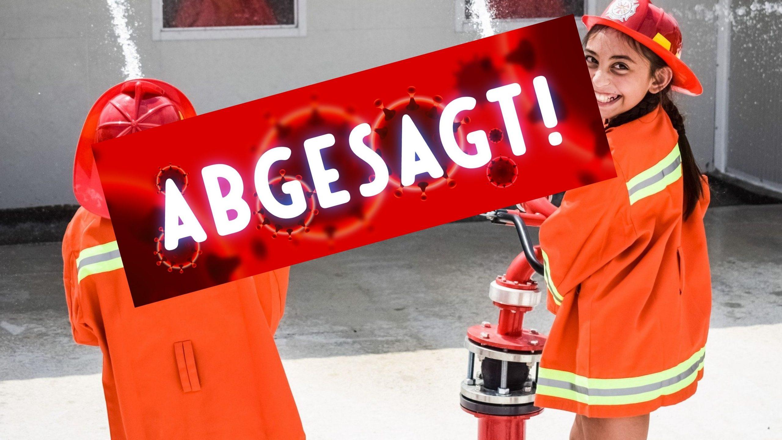 ABSAGE – Bambinifeuerwehr – Zellertaler Glühwürmchen
