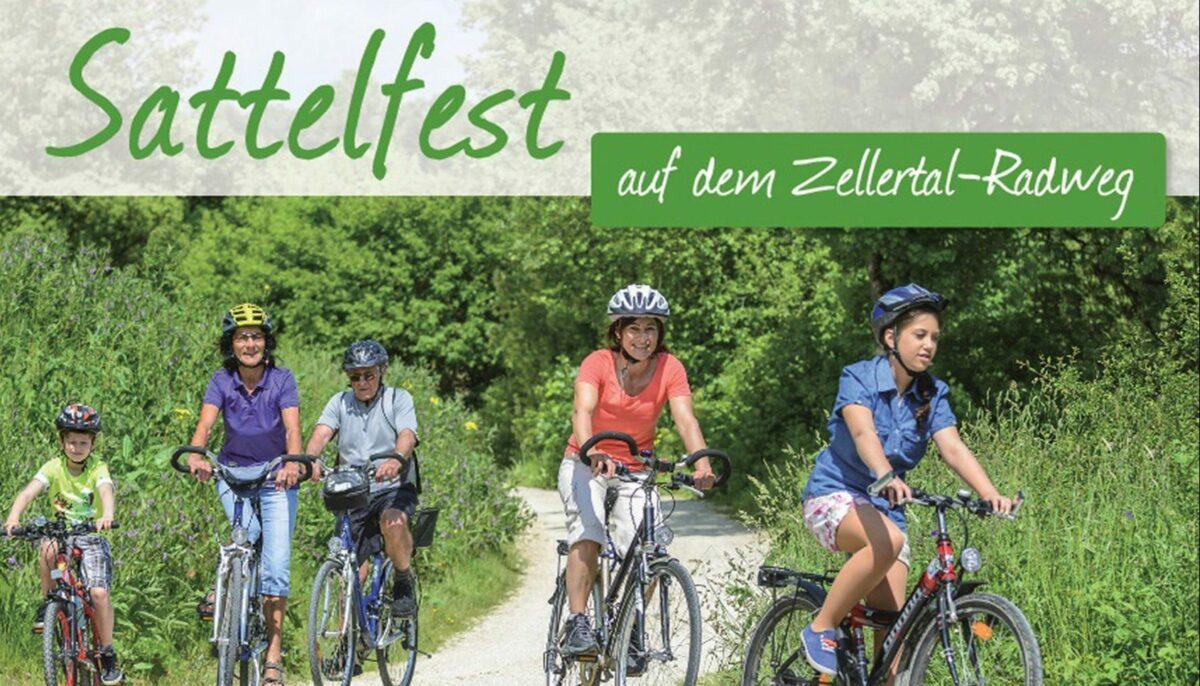 """""""SATTELFEST auf dem ZELLERTAL-RADWEG"""""""